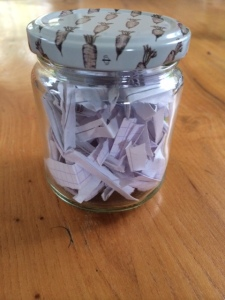 jar of happy memories